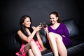 Beautiful women drinking at a party - PhotoDune Item for Sale