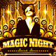 Magic Night Flyer - GraphicRiver Item for Sale