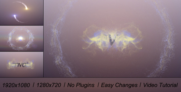 After Effects Project - VideoHive Particles Logo Elegance 3211239