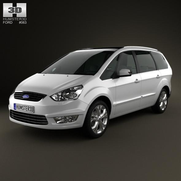 3DOcean Ford Galaxy Mk3 2012 3251066