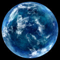 blue planet in space. - PhotoDune Item for Sale