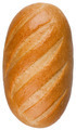 A loaf of bread isolated on the white background - PhotoDune Item for Sale