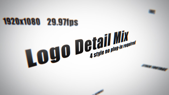 After Effects Project - VideoHive Logo Detail Mix 3251281
