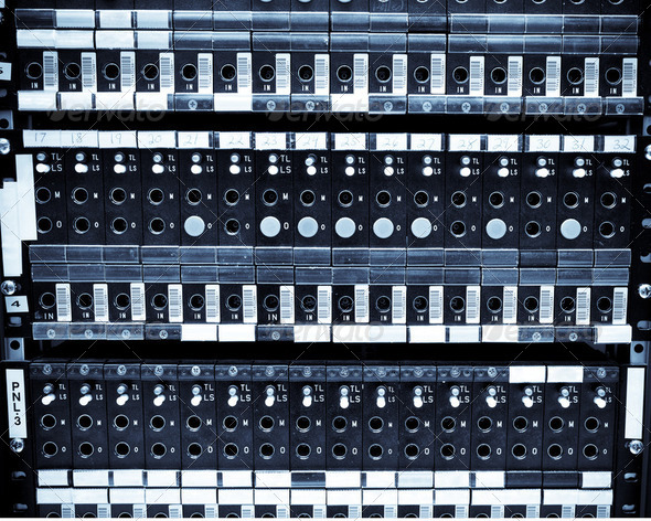 Network servers - Stock Photo - Images
