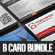 Simple Business Card Bundle II 4 in 1 - GraphicRiver Item for Sale