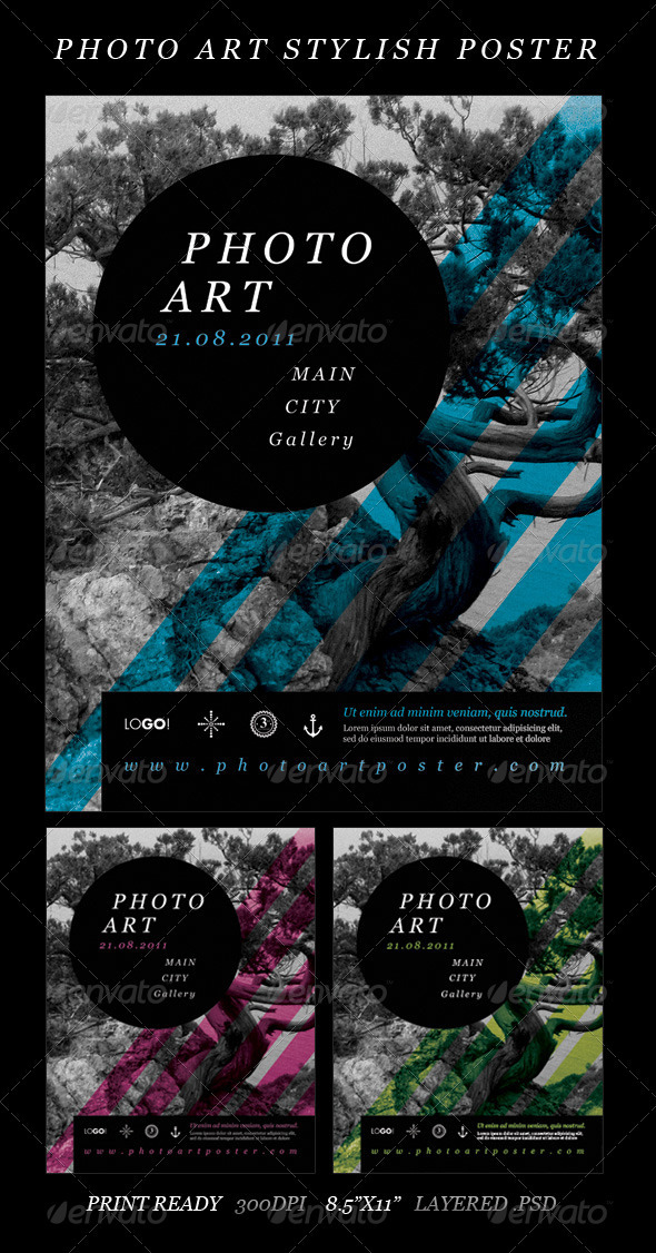 GraphicRiver Photo Art Stylish Poster 336868