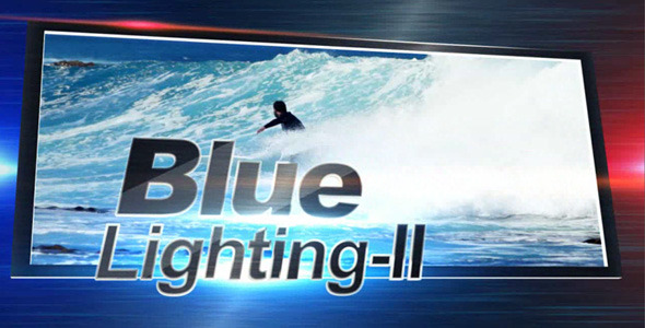 After Effects Project - VideoHive Blue Lighting 2 3255295
