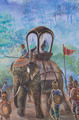 Wall paintings of War elephants - PhotoDune Item for Sale