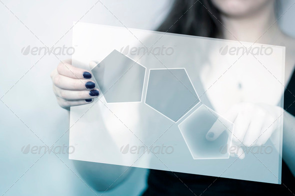 Touch Screen - Stock Photo - Images