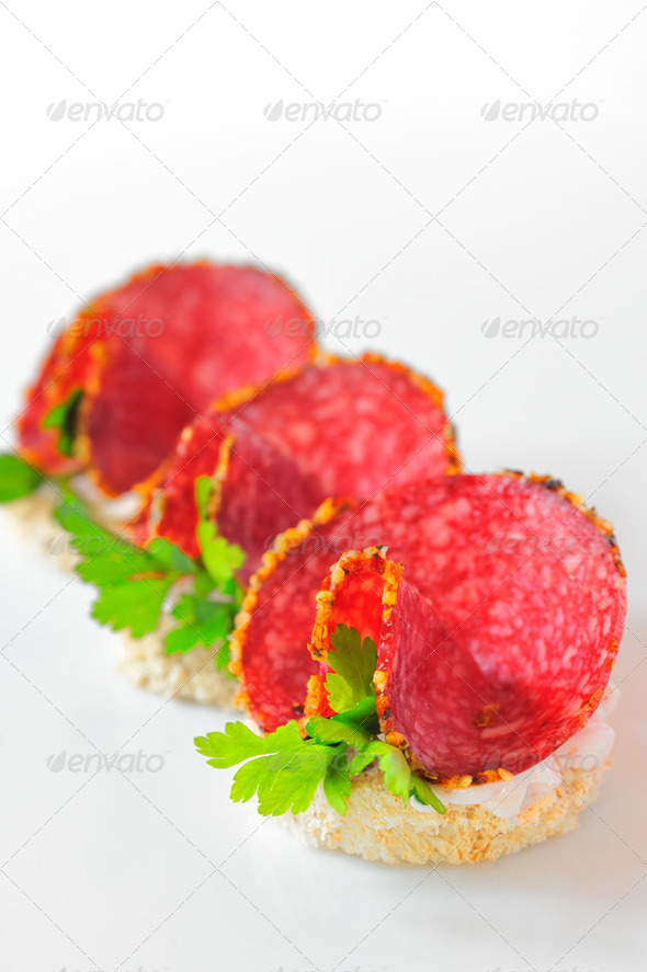 salami - Stock Photo - Images