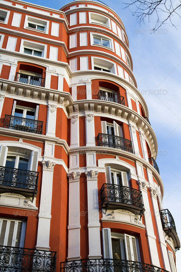 Madrid architecture - Stock Photo - Images