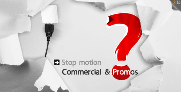 VideoHive Stop Motion Commercial & Promos 3257115