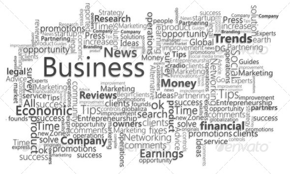 Business needs. Typography concept. - Stock Photo - Images