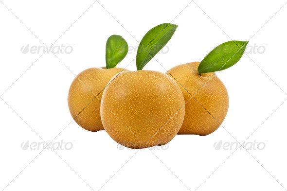Apple Pears in group - Stock Photo - Images