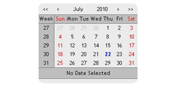 JSCalendar - CodeCanyon Item for Sale