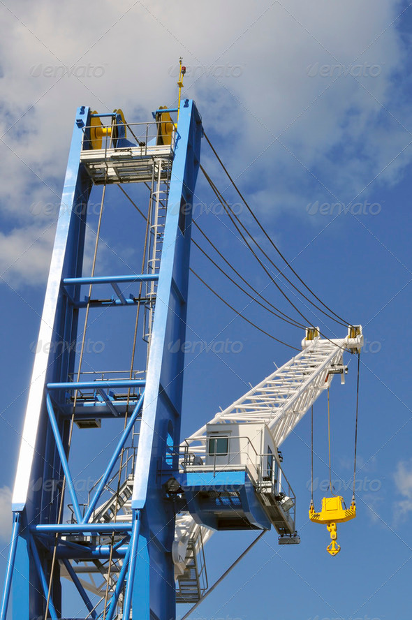 Crane - Stock Photo - Images