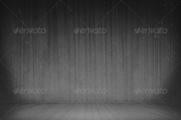 B&W Room - Stock Photo - Images