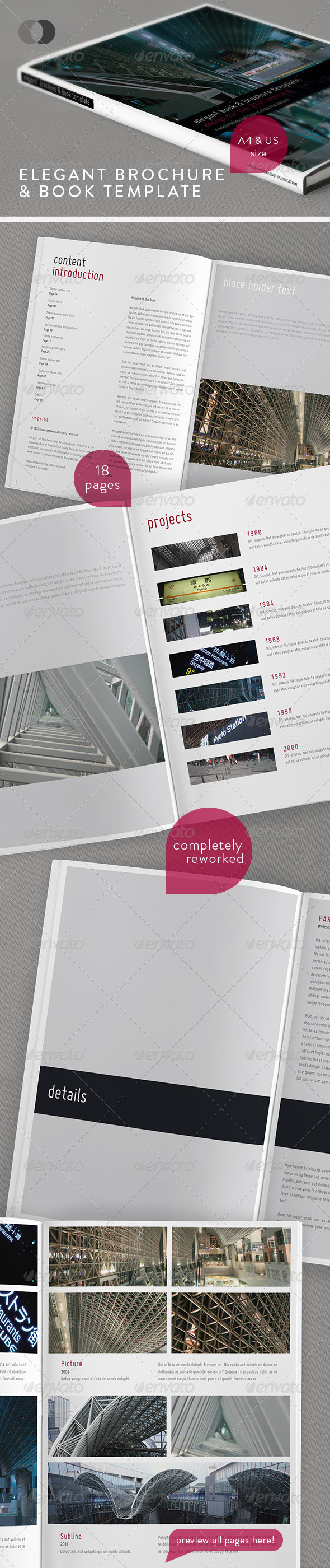 Book & Brochure - Elegant Series Vol.1 - Corporate Brochures