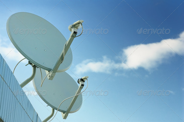Communication Antenna - Stock Photo - Images