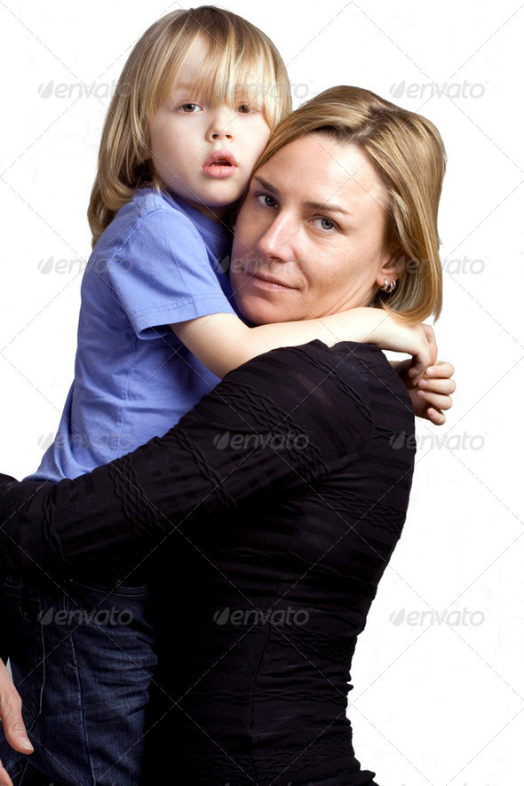 Mother child love - Stock Photo - Images