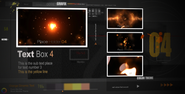 After Effects Project - VideoHive Black Mamba CS4 82747