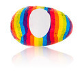 Isolated objects: rainbow egg - PhotoDune Item for Sale