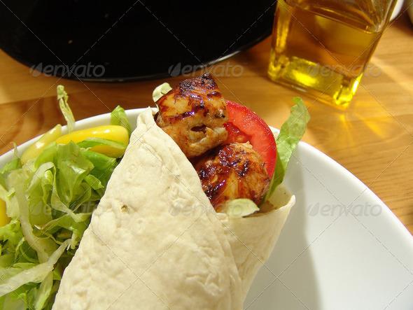 Shish Kebab Grill Grilled Chicken Shish Kebab in