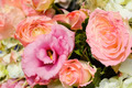 Pink Rose Wedding Bouquet - PhotoDune Item for Sale
