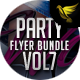 Party Flyer Bundle Vol7 - 4 in 1 - GraphicRiver Item for Sale