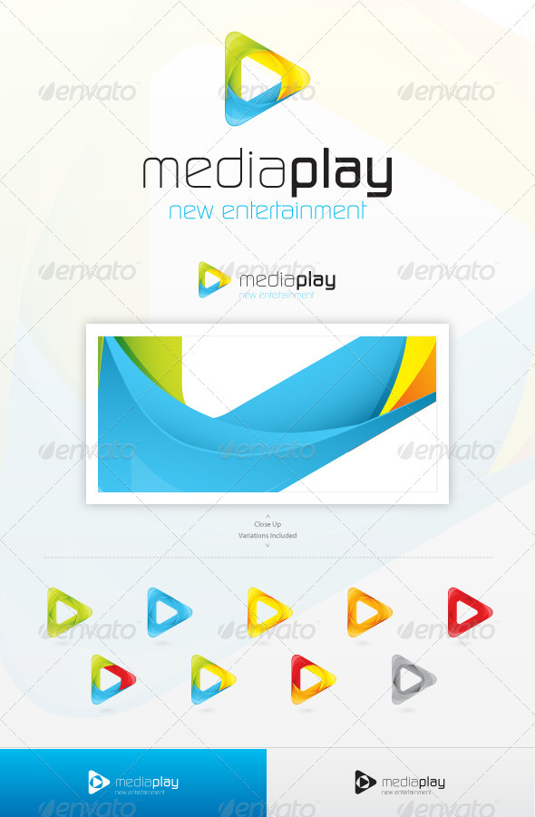 GraphicRiver Media Play Logo 2727670