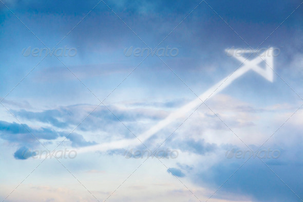 Increase in Cloud - Stock Photo - Images