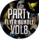 Party Flyer Bundle Vol8 - 4 in 1 - GraphicRiver Item for Sale
