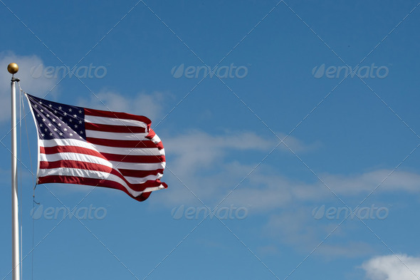 The American Flag - Stock Photo - Images