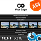 Coming Soon Accordion Website Template 07 AS3 - ActiveDen Item for Sale