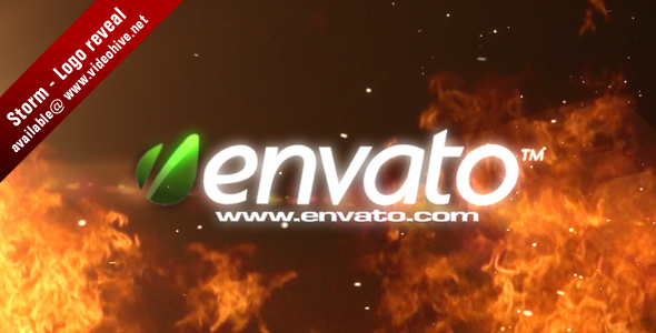 After Effects Project - VideoHive Storm Logo reveal 115223
