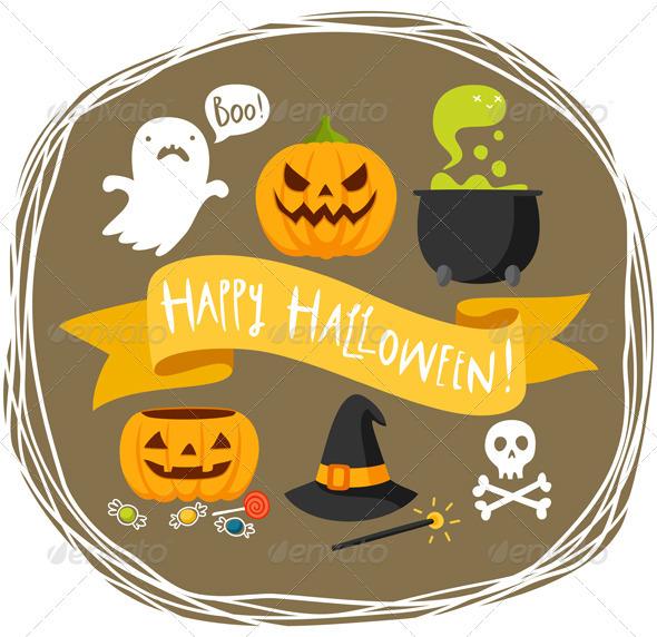 GraphicRiver Happy Halloween 3269504