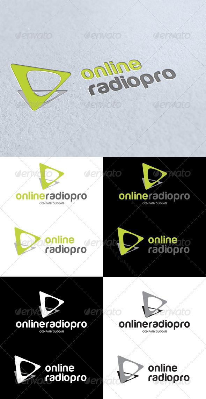 GraphicRiver Online Radio Pro Logo 3270348