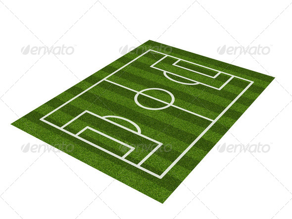 Soccer field - Stock Photo - Images