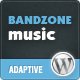 Bandzone: Wordpress Theme made by Musicians - ThemeForest Item for Sale