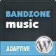 Bandzone : Тема Wordpress сделанные Музыканты - Искусство Творческие
