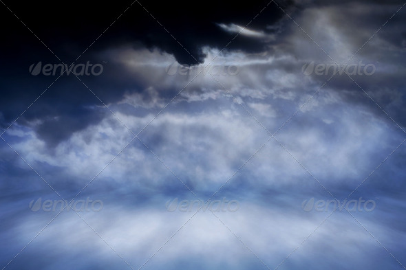 Night Sky Stage - Stock Photo - Images