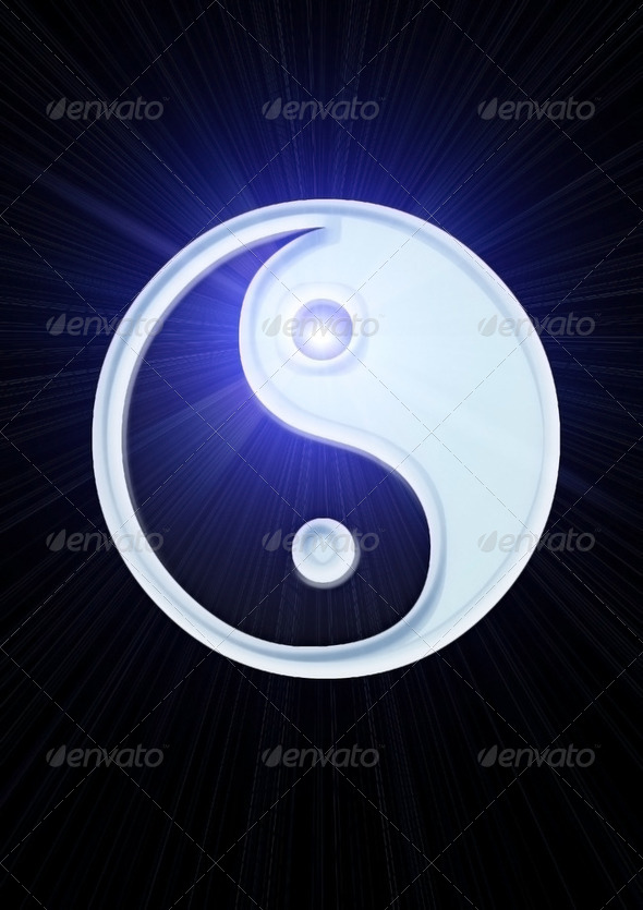 Yin And Yang - Stock Photo - Images