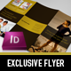 Exclusive Flyer - GraphicRiver Item for Sale