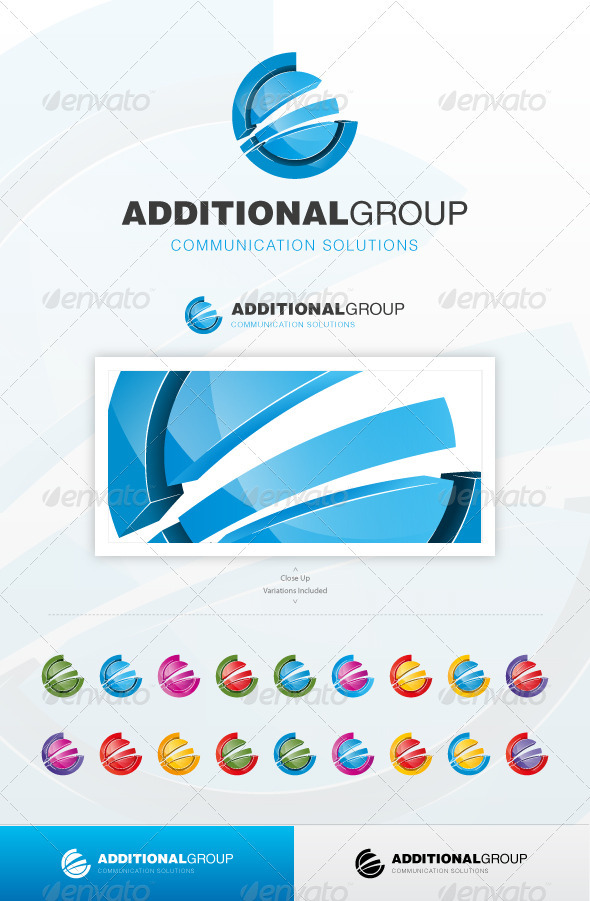 Additional Group - Abstract Logo Templates