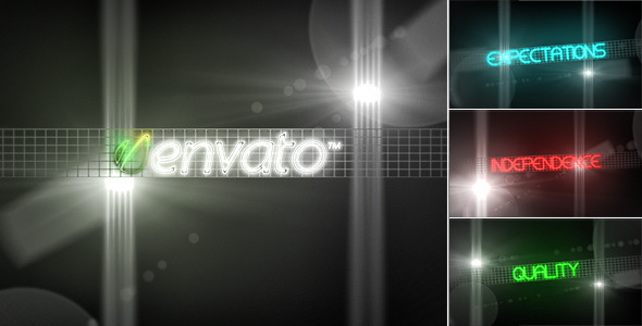 After Effects Project - VideoHive Neon 340047