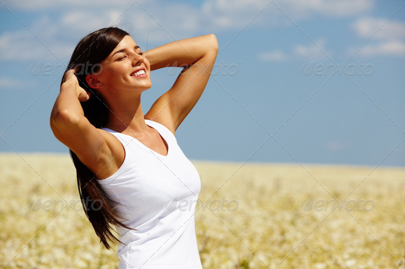Summer girl - Stock Photo - Images
