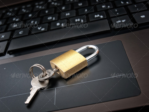 Locked access - Stock Photo - Images