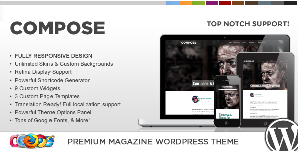 WP Compose Responsive WordPress Theme