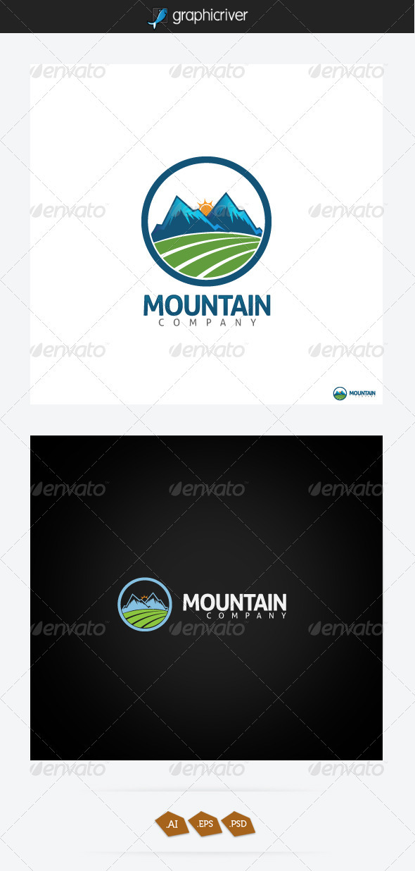 GraphicRiver Mountain Logo 3272772