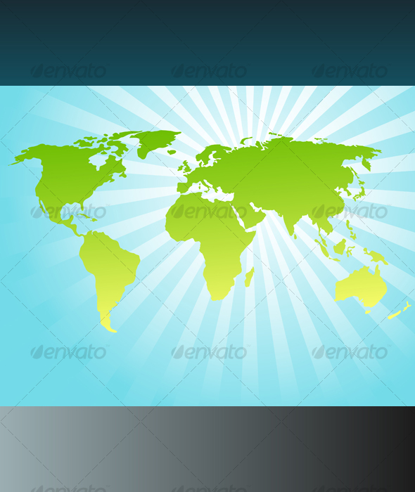 GraphicRiver Background with world map 115479